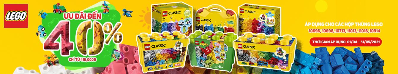 Khuyến Mãi LEGO Hộp Thùng