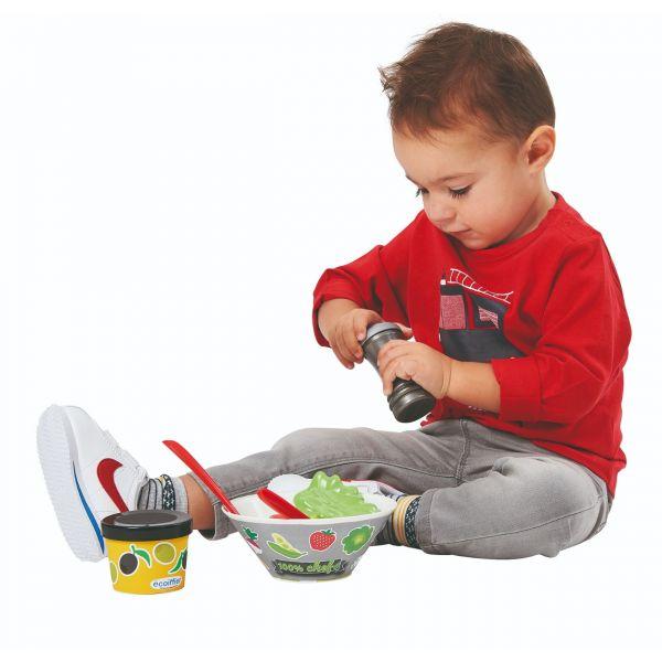Bộ đồ chơi salad rau củ