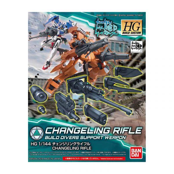 Đồ chơi lắp ráp Gunpla HG 1/144 CHANGELING RIFLE