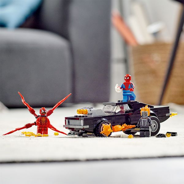 Spiderman Và Ma Tốc Độ Đối Đầu Carnage