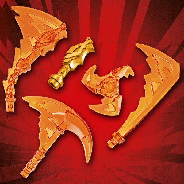 Đấu Trường Ninjago  - Kai Đối Đầu Skullin