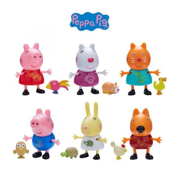 Đồ chơi Peppa Pig và thú cưng