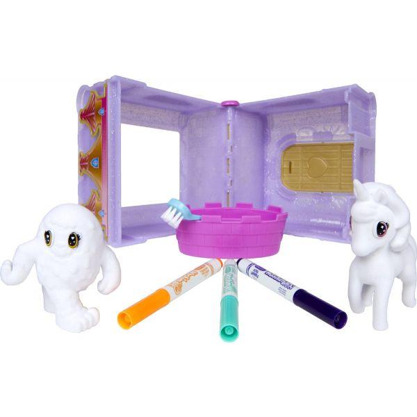 Bộ đồ chơi trang trí thú cưng - Lâu đài Unicorn và quái vật
