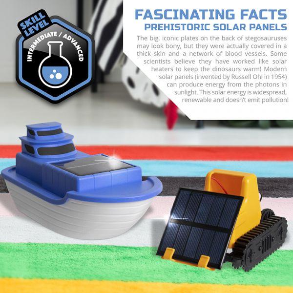 Đồ chơi lắp ráp dùng năng lượng mặt trời - Xe và Thuyền