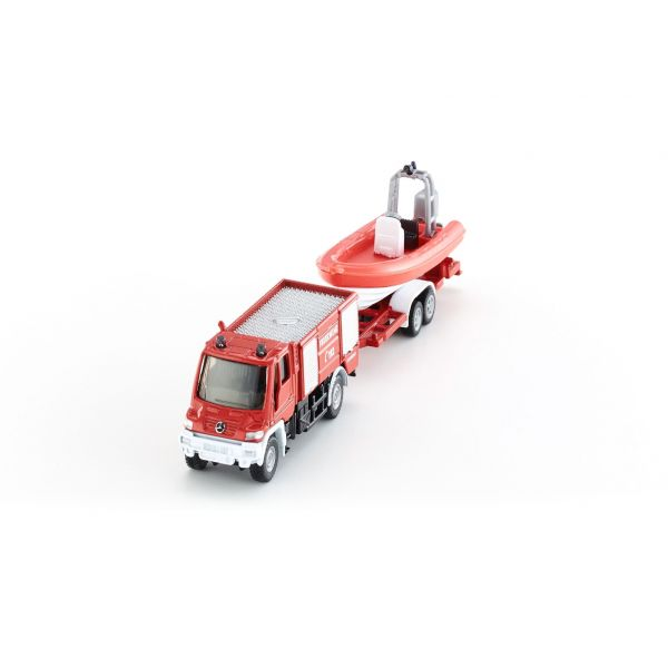 Xe và ca-nô cứu hỏa