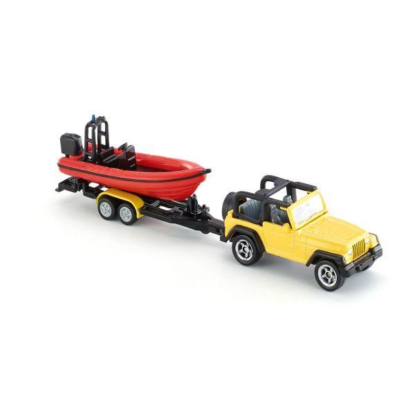 Xe Jeep và ca nô