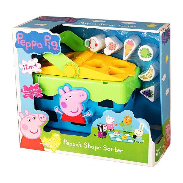 Chiếc giỏ thả khối của Peppa Pig