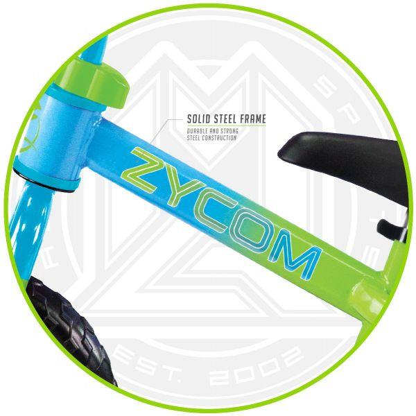 Xe thăng bằng Zycom kèm nón - Xanh