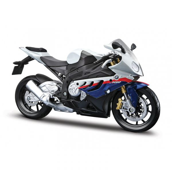Đồ chơi xe mô tô lắp ráp BMW S 1000 RR tỉ lệ 1:12