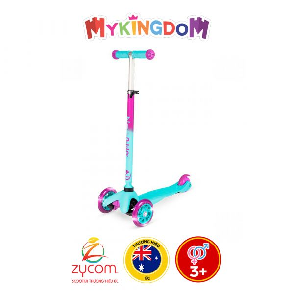 Xe Scooter 3 bánh Zipper Zycom 212-357 hồng
