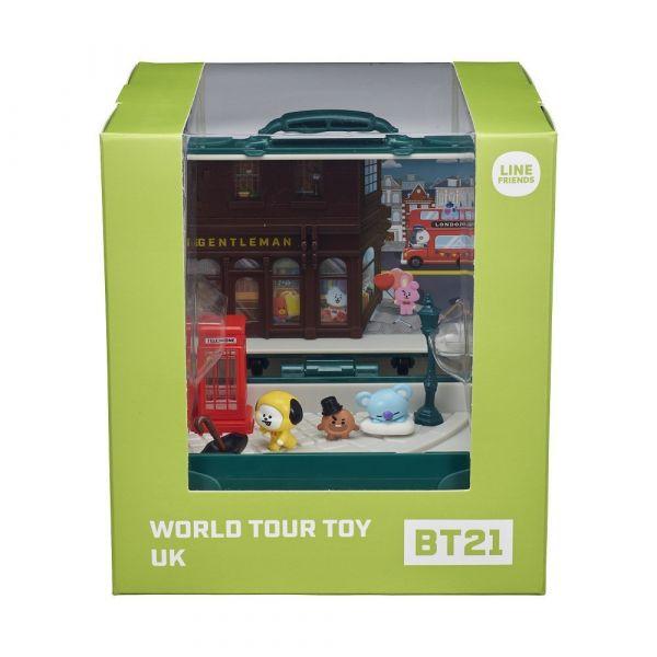 Vali lưu diễn BT21 tại bốt điện thoại đỏ- Luân Đôn