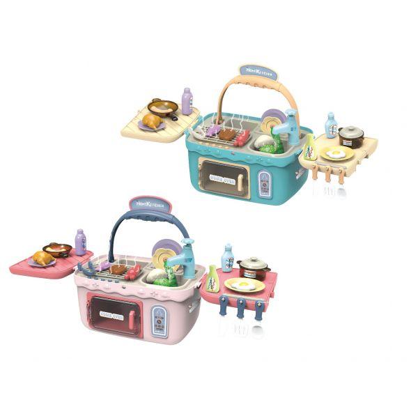 Giỏ picnic mùa hè-Đỏ