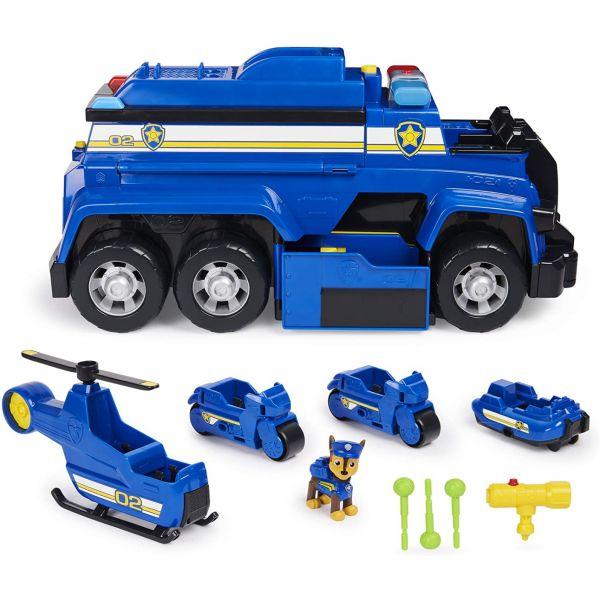 Bộ xe cảnh sát giải cứu siêu hạng 5 trong 1