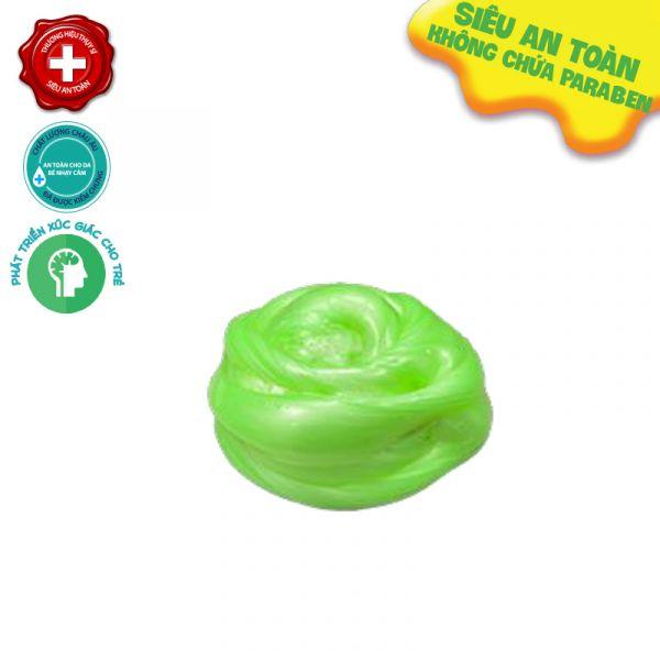 Chất nhờn ma quái Slime nguyên bản ánh kim hũ 500gr xanh lá