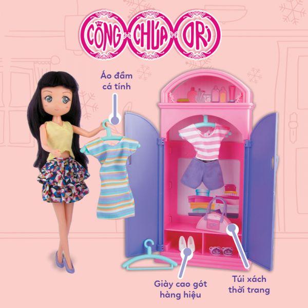 Hiền Hòa và tủ quần áo thời trang