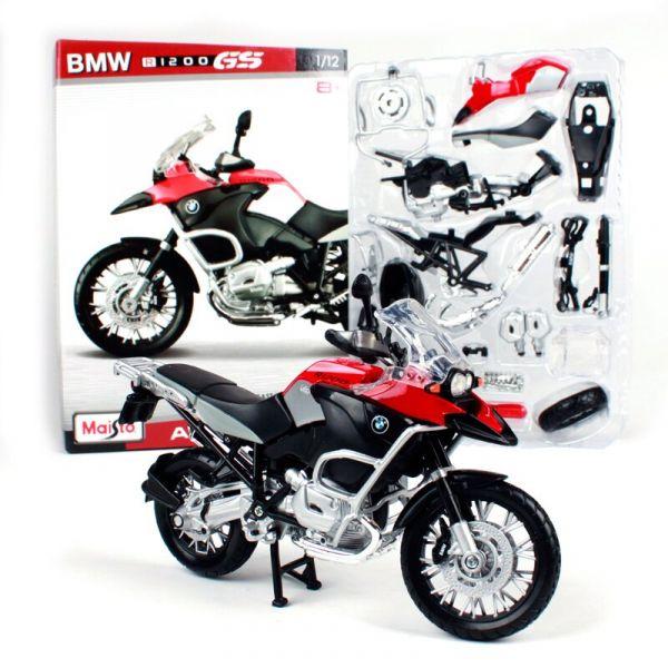 Đồ chơi xe mô tô lắp ráp BMW R 1200 GS tỉ lệ 1:12