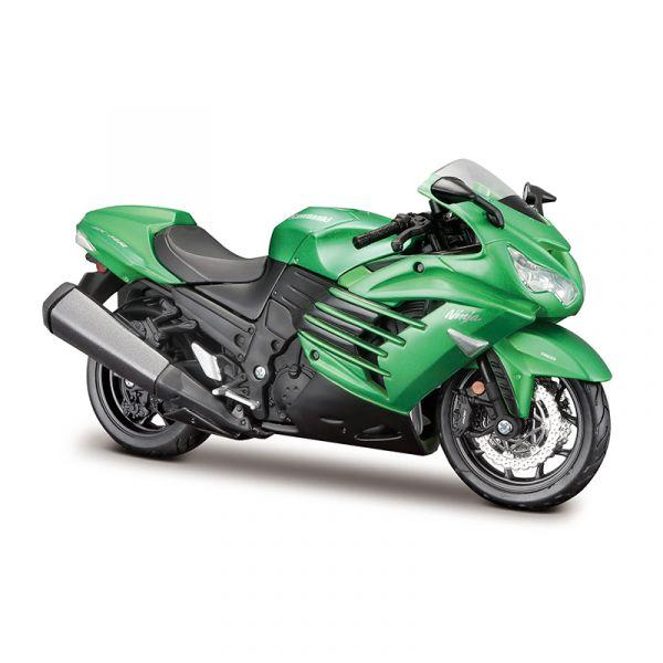 Đồ chơi xe mô tô lắp ráp Kawasaki Ninja ZX 14R