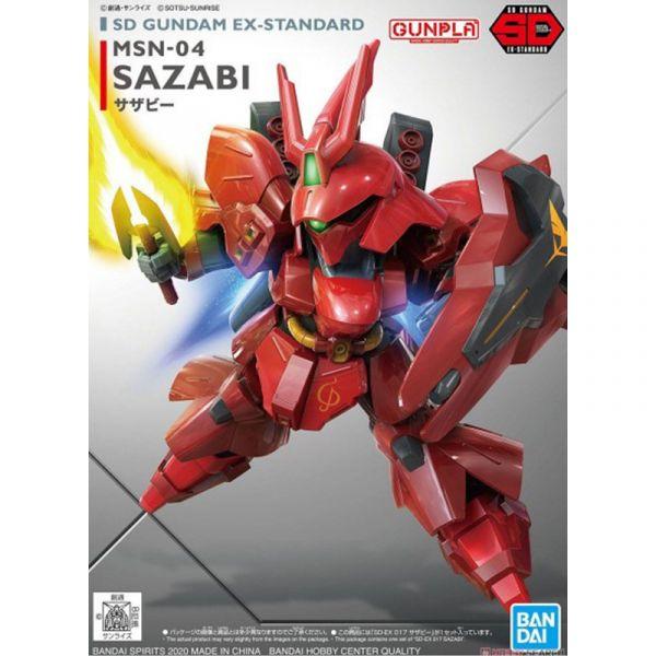 Đồ chơi lắp ráp Gunpla - SD GUNDAM EX-STANDARD MSN-04 SAZABI