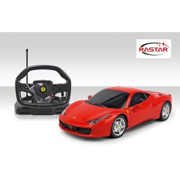 Xe Ferrari 458 Italia with steering wheel controller