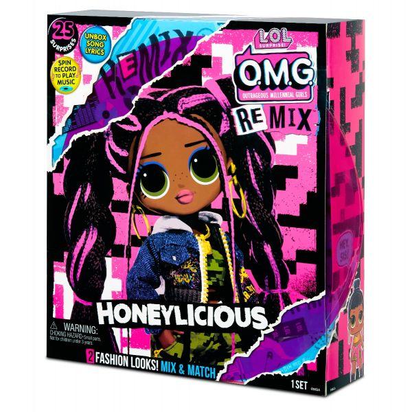Búp bê thời trang OMG Remix- Honeylicious