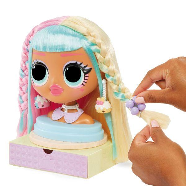 Đồ chơi trổ tài tạo mẫu tóc cùng Candy