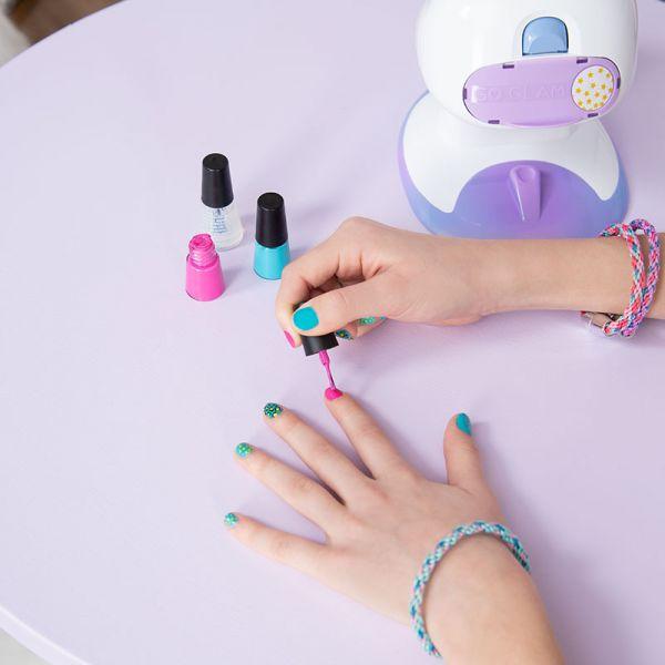 Bộ dụng cụ sơn móng tay in hình cao cấp