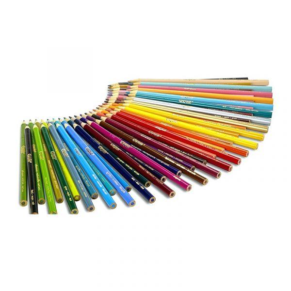 Bút chì 24 màu dạng dài