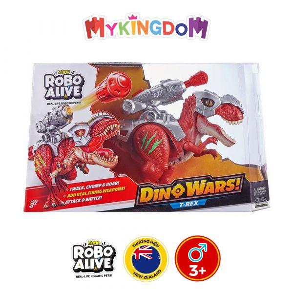 Khủng long bạo chúa chiến đấu T-Rex-Đỏ