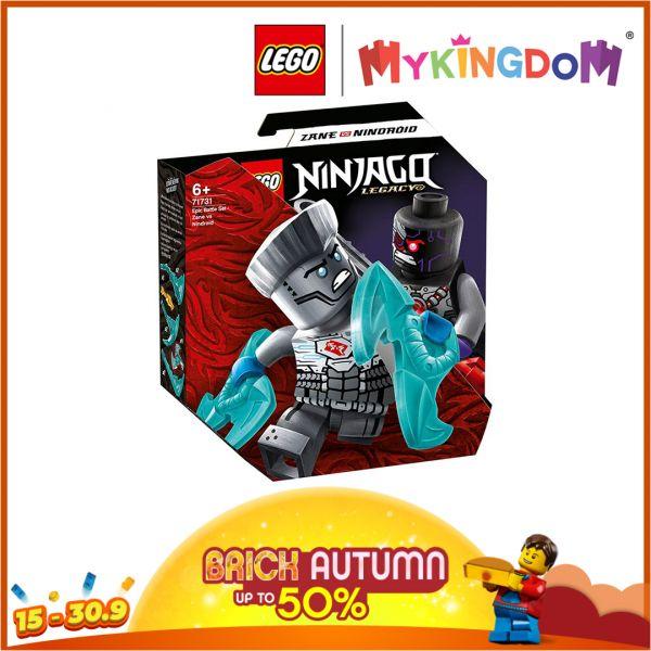 Đấu Trường Ninjago - Zane Đối Đầu Nindriod