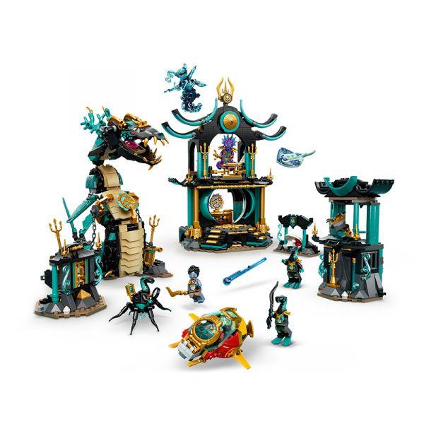 Ngôi đền rồng dưới đại dương