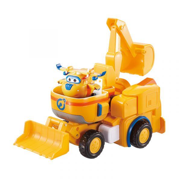 Robot biến hình kết hợp xe cứu hộ nhỏ  - Donnie Thông Minh