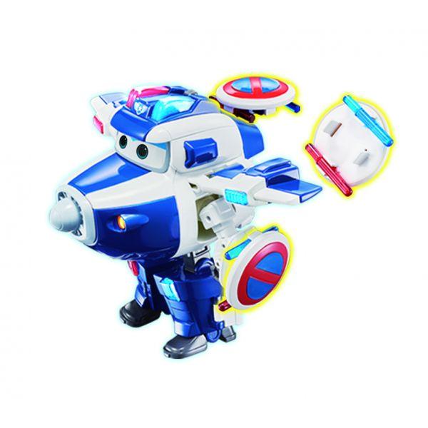 Robot Biến Hình Cỡ Lớn Có Đèn Và Âm Thanh  -Paul Siêu Cấp