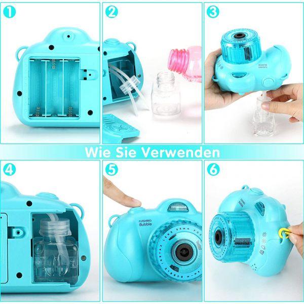 Máy chụp hình bong bóng đèn flash - hồng