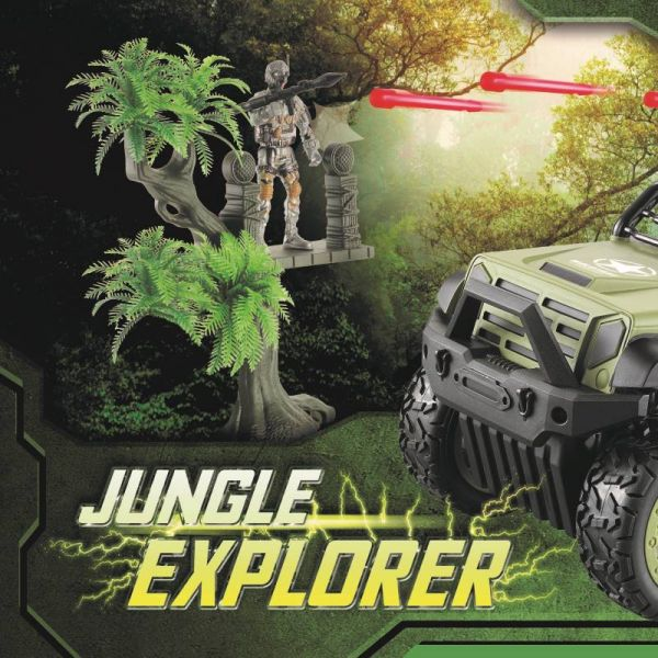 Siêu xe thám hiểm rừng sâu