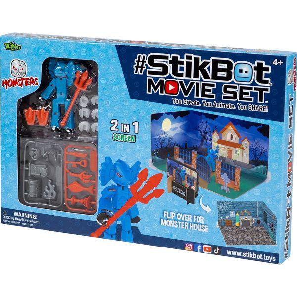 Trường quay Stikbot quái vật