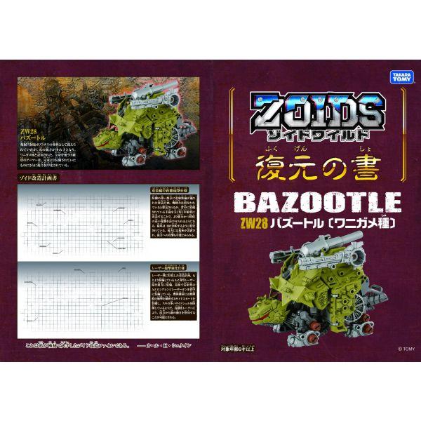 Chiến binh thú ZW28 BAZOOTLE