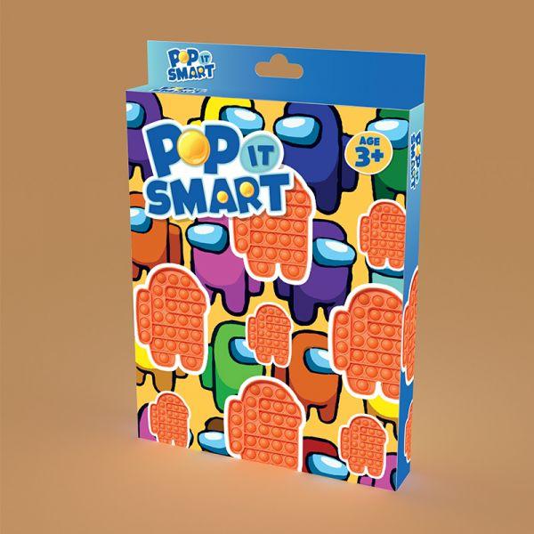 Đồ chơi Pop It Smart hình Among Us màu cam
