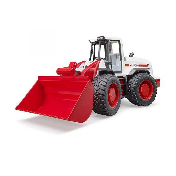 Đồ chơi dạng mô hình theo tỷ lệ thu nhỏ 1:16 xe ủi đỏ