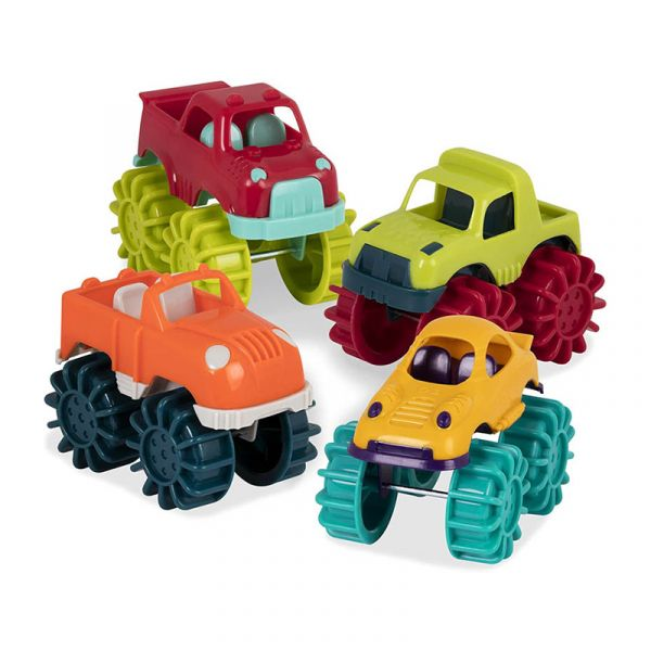 Bộ 6 xe tải răng cưa