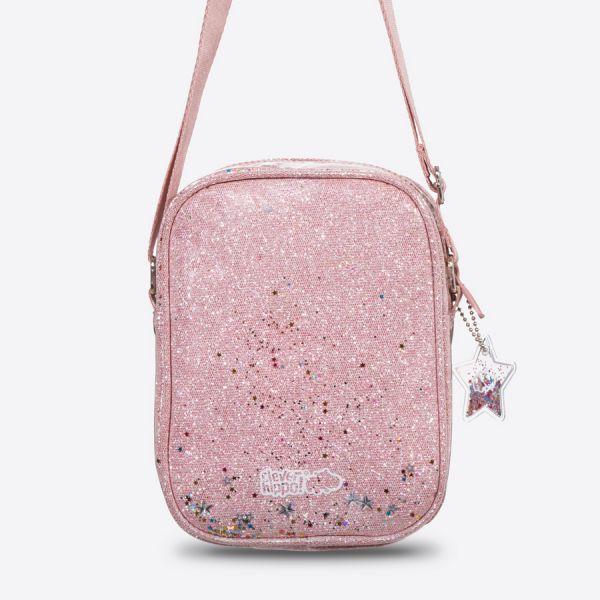 Túi đeo chéo thời trang SPARKLE-Hồng