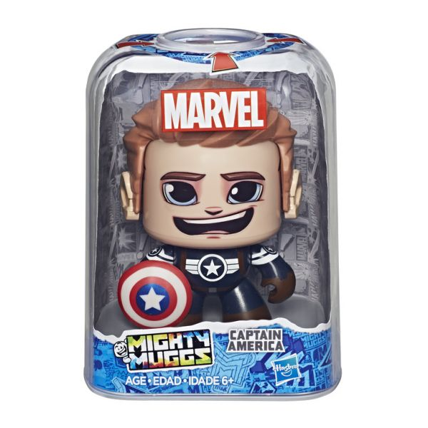 Mighty Muggs MVL - Captain America(Black)
