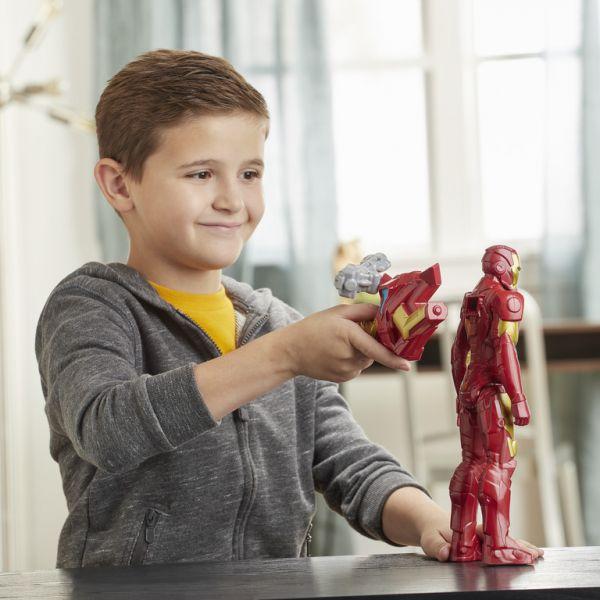 Siêu anh hùng Iron Man tối tân 30cm