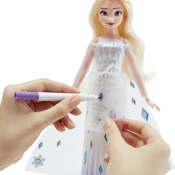 Thiết kế thời trang cùng Elsa
