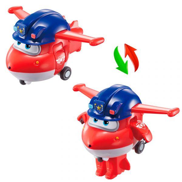 Robot biến hình máy bay mini  -  Jett Team Cảnh Sát
