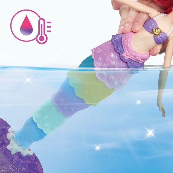 Công chúa Ariel đổi màu kỳ diệu