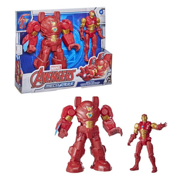 Mô hình Iron Man dòng Mech Strike tối thượng giáp 8 inch