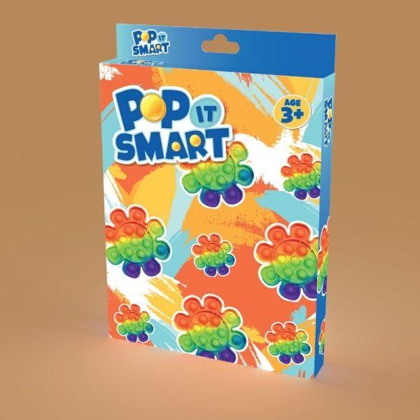 Đồ chơi Pop It Smart hình bông hoa sặc sỡ