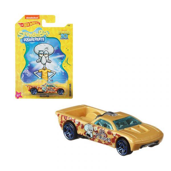 Siêu xe Hot Wheels chủ đề SPONGEBOB BEDLAM