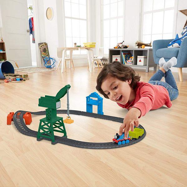 Mô hình đường ray tại cảng biển cùng Thomas