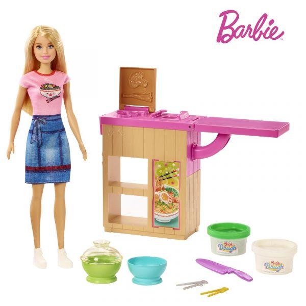 Cùng Barbie làm mỳ